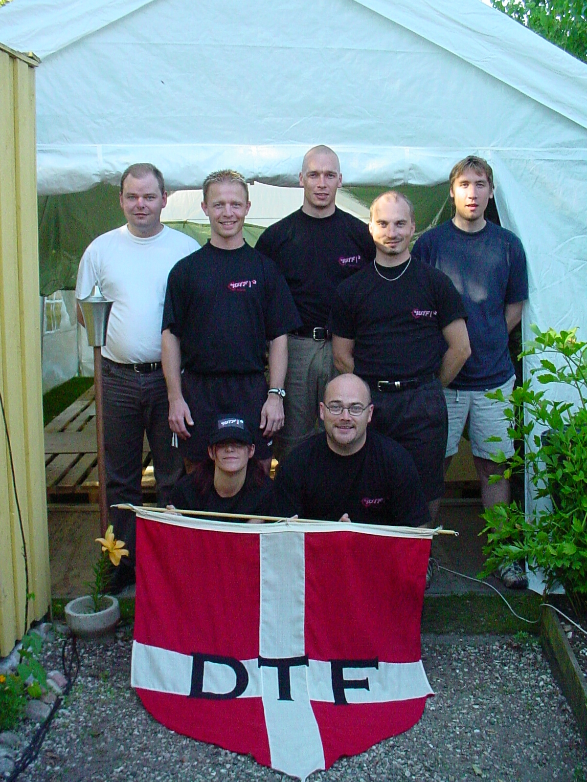 The Team and friends @ Summer party 2003